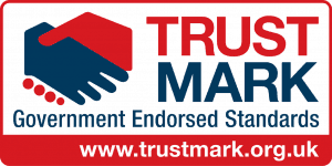 The badge of the Trustmark for rotherham Carpet cleaner Chem-Dry