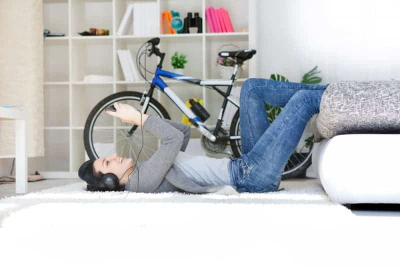 Is your muddy bike slowly ruining your carpets and rugs?