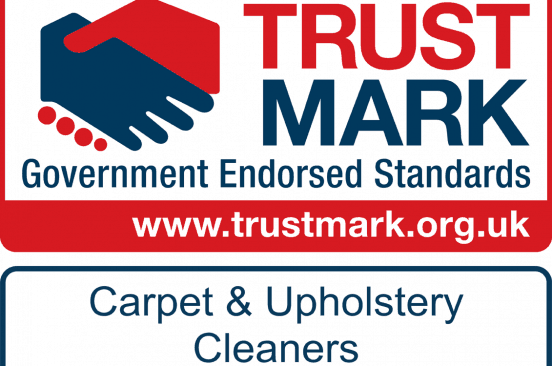 Logo of the Trustmark member badge of Rotherham Carpet & Upholstery Cleaner Rotherham Clean & Dry