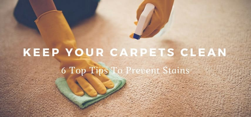 6 Ways to Prevent Carpet Stains